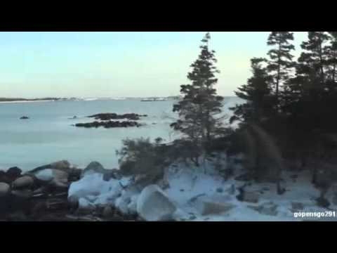 boiling water challenge and a mini trip to the frozen ocean