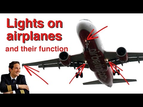 "LIGHTS on Airplanes explained by ""CAPTAIN""Joe"
