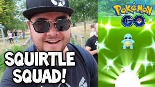 4X SHINY SQUIRTLE IN A ROW DURING POKÉMON GO COMMUNITY DAY!