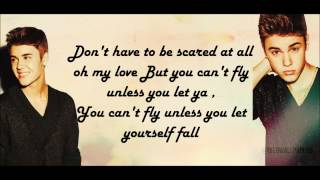 Repeat youtube video Justin Bieber - Fall [Acoustic] [Lyrics]