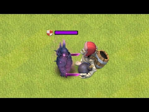 MAX GIANT SKELETON VS. MAX PEKKA