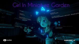 Girl In Miniature Garden: Demo en tercera persona donde sé remos el punto de vista de robots enemigos que tendremos que derrotar. Girl in miniature garden ...