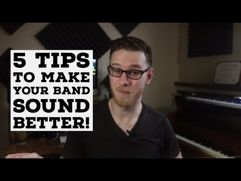 5 TIPS to Make Your Band Sound BETTER | The Pop Revolution
