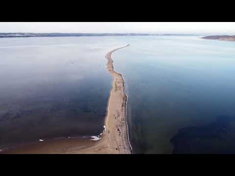 Drone video. Jelse Odde, Denmark
