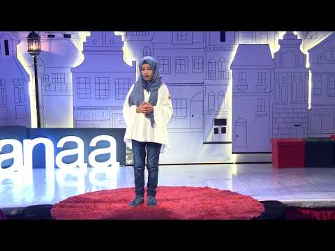 The girl who cheated Death | Wedad Hamzah | TEDxKids@Sanaa
