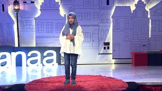 The girl who cheated Death | Wedad Hamzah | TEDxKids@Sanaa