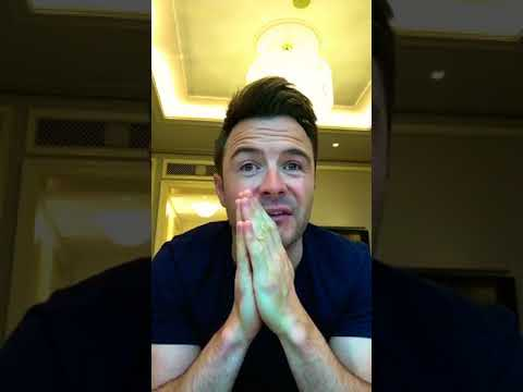 Shane Filan live video Q&A from his FB page and IG ( 20/8/2017)