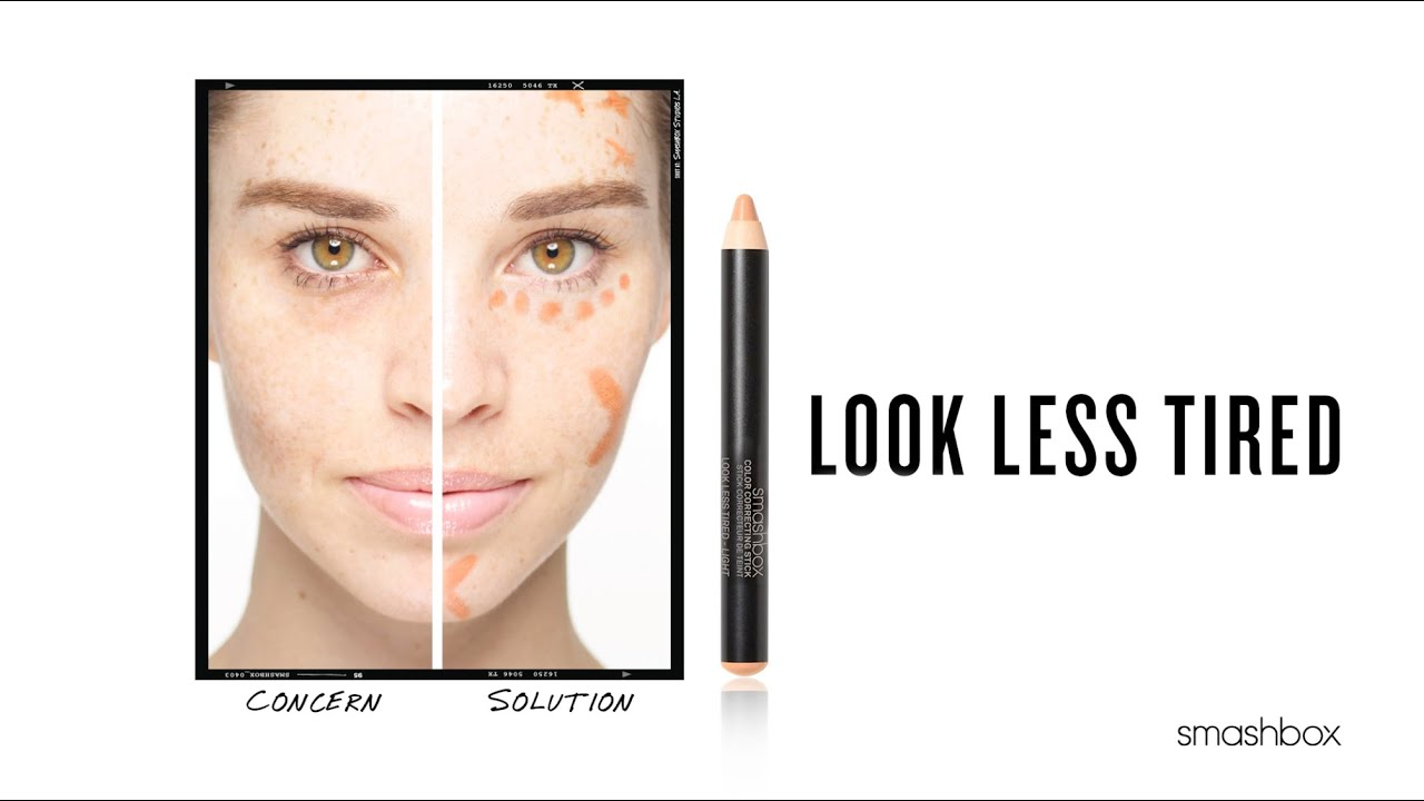 Color Correcting 101: Look Less Tired Smashbox Cosmetics