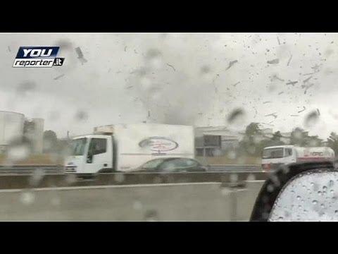 Italie : une tornade fait des dégâts près de Milan