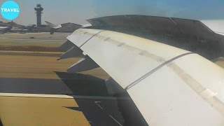Lufthansa A380 Beautiful Scenic Landing at Los Angeles International Airport!