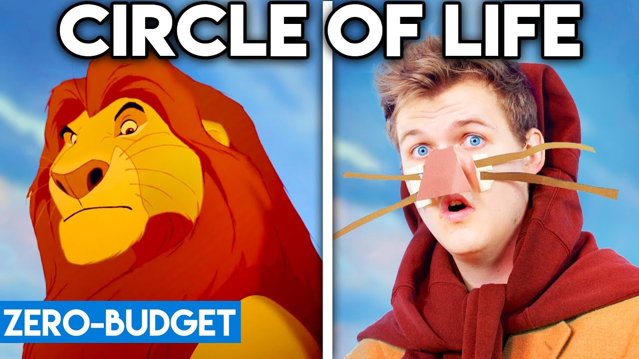 THE LION KING WITH ZERO BUDGET! (Circle Of Life PARODY)