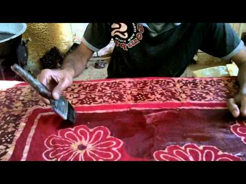 Wax Batik Artisan in India