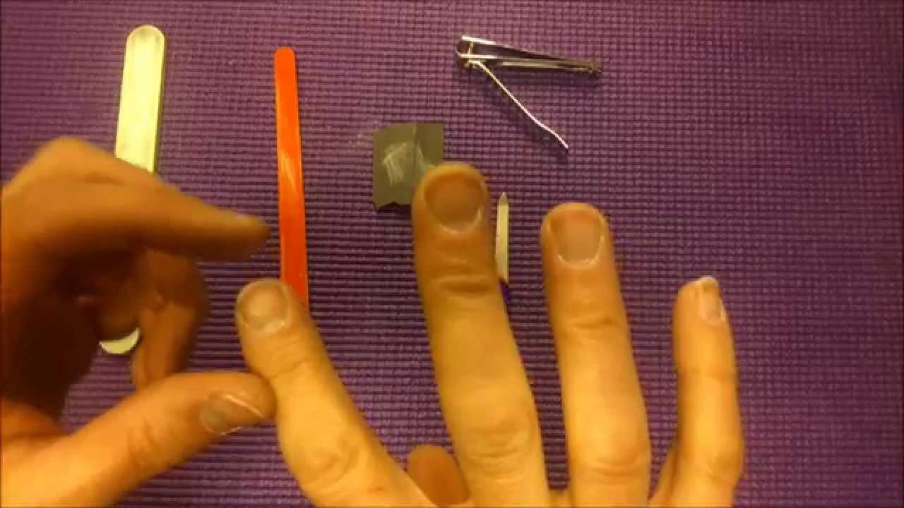 Tutorial: cómo tener las uñas para tocar la guitarra [DIY] - YouTube