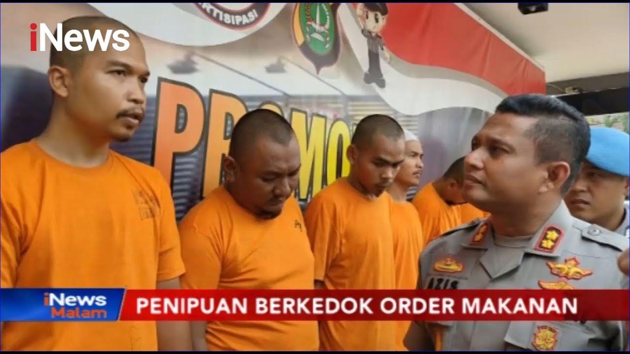 Polisi Bongkar Modus Penipuan Order Fiktif Makanan Lewat Ojek