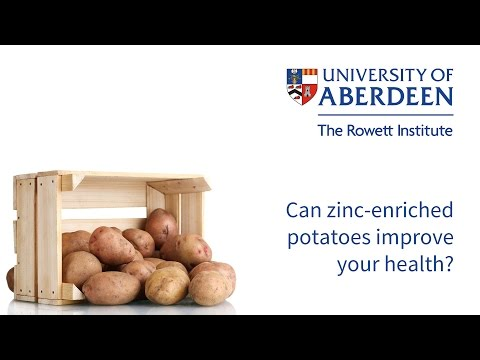 Can zinc-enriched potatoes improve your health?