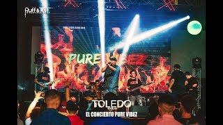 Toledo & Pure Vibez Band El Concierto Pure Vibez en vivo (completo) 2019