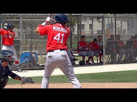Samuel Miranda C Boston Red Sox