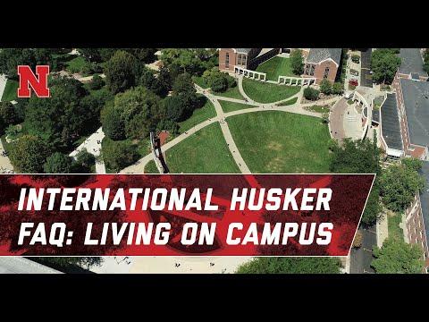 Living On Campus: International Husker FAQ