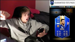 THIS IS WHAT 100 GUARANTEED TOTS PACKS GET YOU?!?!?! PACYBITS FUT PACK 19