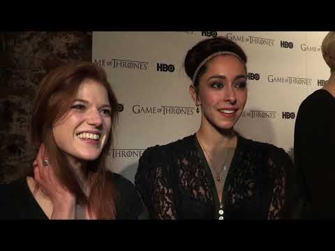 Rose Leslie & Oona Chaplin at the 'Game Of Thrones' Season 1 DVD Launch Party