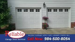 Two Garage Door Openers Replacement in Raleigh, NC