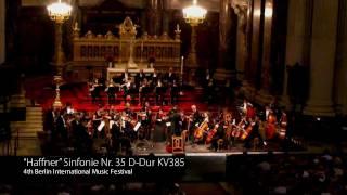 """Mozart  """"Haffner"""" Symphony No. 35 D Major, KV 385 III, IV"""
