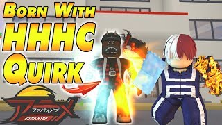 [NEW CODES] The STRONGEST QUIRK I Was Born With! | Anime Fighting Simulator