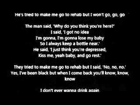Amy Winehouse - Rehab Lyrics | MetroLyrics