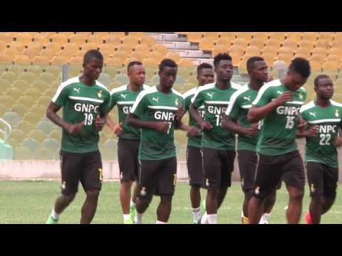 Black Stars open training ahead of AFCON 2019 Qualifier against Ethiopia