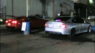 2012 Camaro ZL1 Vs 2006 Pontiac GTO Drag Racing RaceLegal.com 7-13-2012