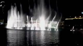 Dubai Fountain Video From Our Room at Ramada Downtown Oppos