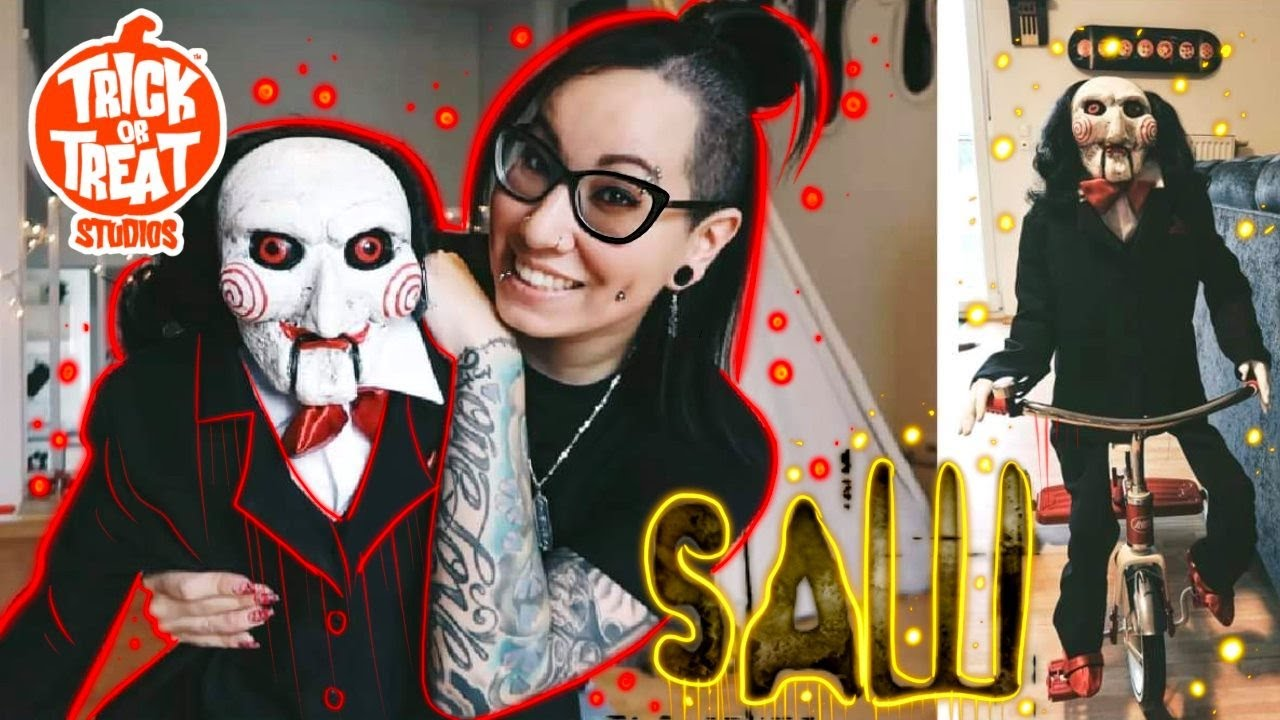 Download   SAW   BILLY Unboxing Review Setup [Trick Or Treat Studios]
