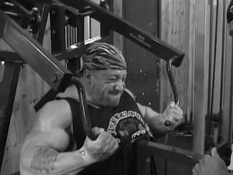 Dorian Yates - Blood and Guts - Hammer Strength Pulldown Machine