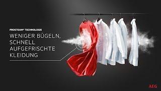 Wäschepflege mit kraftvollem Dampf: ProSteam® von AEG