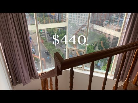 Inside a $400 high-rise loft | Taiwan Apartment Tour