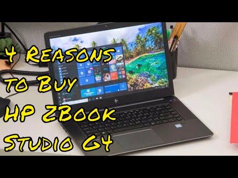 4 Reasons to Buy HP ZBook Studio G4