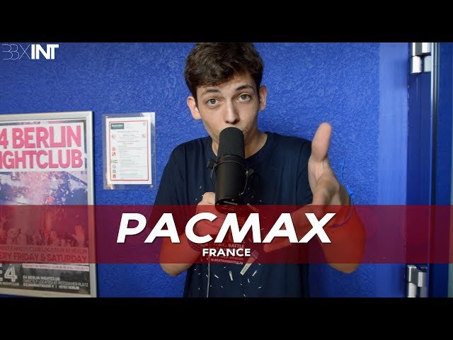 PACMax 🇫🇷 | 16 Year Old French Prodigy (World Beatbox Championship 2018)