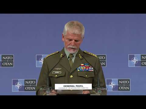 Opening remarks joint press conference - NATO Chiefs of Defence, 16 MAY 2018