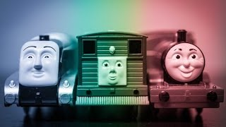 The Amazing Fisher-Price Thomas & Friends TrackMaster Toby, Spencer, and James Talking Engines