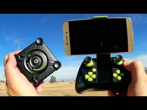 HC651W Folding 720p HD WiFi FPV Drone Flight Test Review