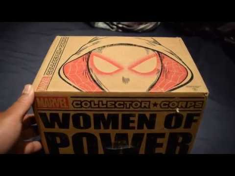 "Marvel Collector's Corp June 2016 Unboxing ""Women of Power"""
