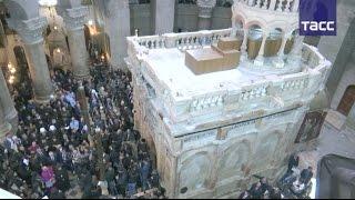 В Иерусалиме открылась отреставрированная Кувуклия — часовня над Гробом Господним