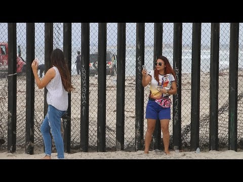 Will  Migrant Caravan Of Illegal Immigrants BREAK THIS WALL???We Visited The US - Mexico Border Wall