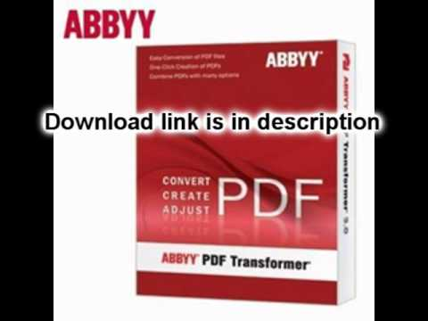 keygen abbyy pdf transformer 3.0