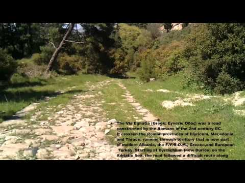 Ancient Via Egnatia (part between Kavala and Philippi)