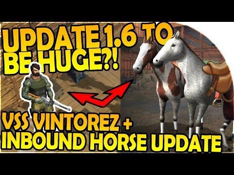 VSS VINTOREZ + HORSE UPDATE INBOUND-  UPDATE 1.6 TO BE HUGE- Last Day On Earth Survival 1.5.9 Update
