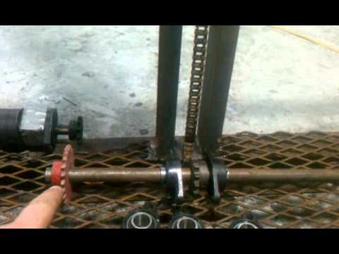 Homemade water well drilling rig  YouTube