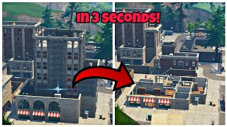 How To Destroy Any Building In 3 Seconds Glitch (New) Fortnite Glitches Season 6 PS4/Xbox one 2018