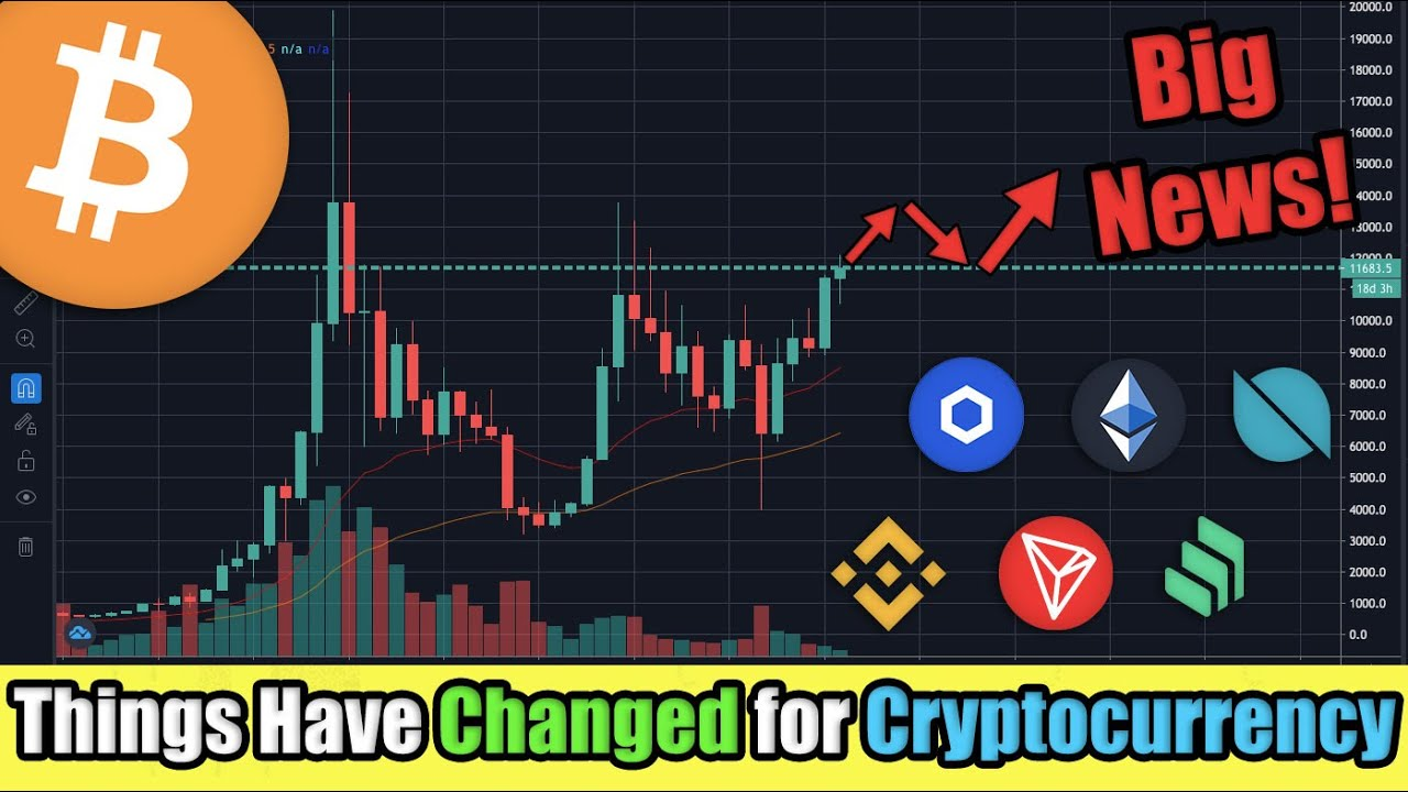 This May Change Your Mind on Cryptocurrency   Bitcoin, Ethereum, and Chainlink JUST WENT MAINSTREAM!