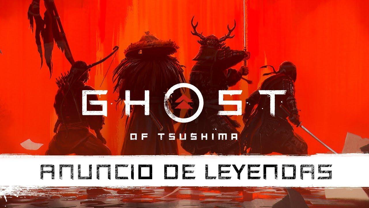 Ghost of Tsushima: Leyendas. Tráiler de anuncio   PS4